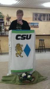 Ortsvorsitzende Dr. Sabine Schultes