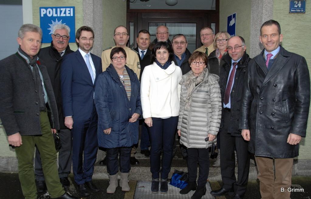 Fraktionsbesuch PI Neustadt