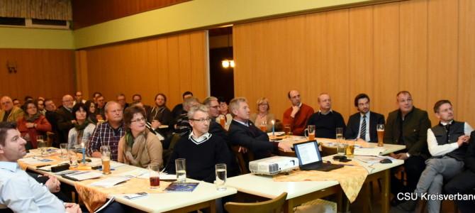 Ortsvorsitzendenkonferenz im Naabtalhaus