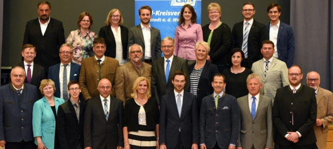 Viel Optimismus im CSU-Kreisverband