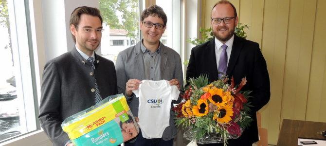 Erneutes Baby-Glück in Kreistagsfraktion