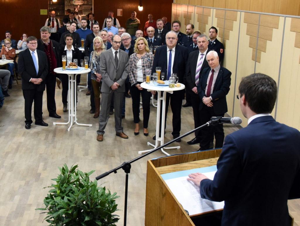 Neujahrsempfang CSU Oberwildenau 1