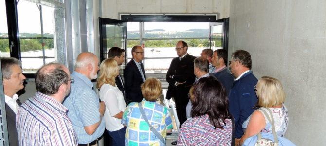 CSU-Kreisräte informieren sich bei Kliniken Nordoberpfalz AG