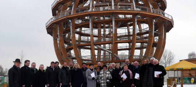 """Anregungen für ein """"NEWSeenland"""" – CSU-Kreisräte informieren sich am Steinberger See"""