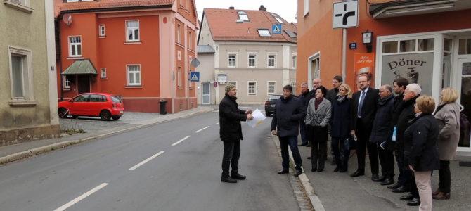 Maßnahmen für die Ortsdurchfahrt Pressath