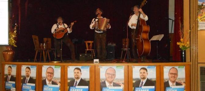 Stefan Harrer der richtige Mann für Waidhaus – Prima Stimmung beim Wahlkampfabschluss