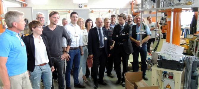 Maschinenbauer Lippert Vorzeigebetrieb in der Region