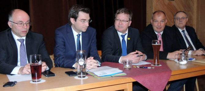 Schwarzer OB in Weiden: Kreistags- und Stadtratsfraktion im Gespräch mit Michael Cerny